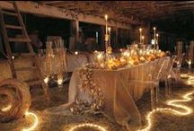 Tablescapes...Tablesettings / by Tina Whatley