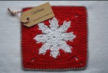 Christmas Crafts & Stitches / A variety of Christmas crafts, including sewing, knitting, crochet, kid crafts, and more.