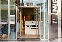 Woodmood / Woodmood is an exhibition curated by Davide Fabio Colaci and me. @Valcucine Kitchens Milano Brera.