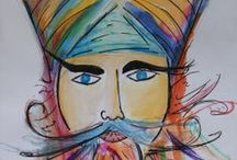 The Sikh Turban (Pagh), Beard, and more / A board dedicated to Sikh Turbans (Paghs), Beards and a little more.