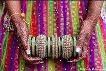 Indian Bangles / Beautiful Indian Bridal Bangles