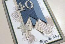 Card Making - Birthday - Age