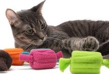 DIY Cat Toys / DIY cat toys - these are pictures, infographics, or tutorials of toys you can make for cats or kitty.