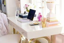Chic Spaces / The perfect chic & organized spaces for the working & fashion forward woman.