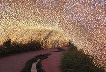Amazing lights / Inspiratie: lichtjes, lampjes, buitenverlichting, kaarsjes, mason jars; the sky is the limit ;)