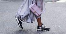 Outfitinspo: Sneakers Forever / Streetstyles rund um den beliebten Turnschuh - So schick kann ein Sneaker aussehen