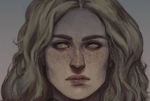 """oc: Siobhan / One of the Offspring, raised by her elder siblings; an apprentice in the Order; Valka and Percival's dearest friend; has an awful tendency to run away from her problems 