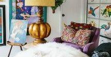Bohemian Interior Design / Bohemian Interior Design Ideas.