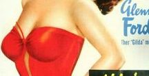 Vintage Movie Posters / Vintage movie posters with the female actor as the main focus.