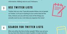 Social Media / Social media tips and tricks.