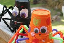 Halloween Decoration Ideas / Halloween Decoration Ideas is a Pinterest board for school ideas ans decorations for Halloween: hands-on, fonts, crafts,  designs... #HalloweenDecorationIdeas #HalloweenIdeas #HalloweenDecorations