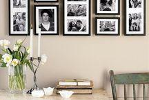 inspiration; Frame It / Gallery Wall Tips en inspiratie om jou droomfoto's in je droomhuis op te laten gaan. Want reken maar dat beide elkaar zullen versterken! Mits je een paar goede toepasbare trucs kent!