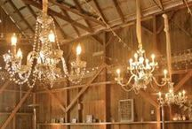 Inspiration // Wedding Chandeliers / Pictures that we find inspiring!