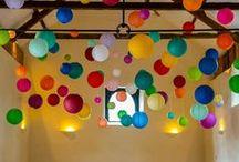 Inspiration // Lanterns, Pom Poms, Ribbons, Fabric Design / Pictures that we find inspiring!