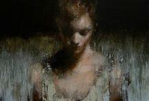 Oil paintings & watercolor