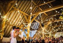 Our Work // Pinspired Wedding Lighting Designs! / Here are the pins which inspired brides and our interpretation of the style in their venue. Wedding lighting for style and impact. Match up the INSPIRATION shot with the OAKWOOD EVENTS install!