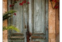 Doors / ... knock, and it shall be opened unto you.