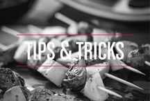 Tips & Tricks / Tip and tricks from the experts because grilling doesn't have to be a chore. Happy Grilling!