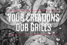 Your Creations, Our Grills / Make something new on your George Foreman? We want the world to see your recipes! If you would like to be a contributor, send us a message or email us at contactgeorgeforeman@gmail.com.