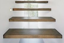 stair design / modern and simple stairs