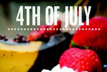 4th of July / Celebrating the Red, White and Blue with friends, family, fun and food! / by George Foreman Cooking