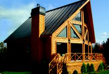 A little bit of Cottage Life / A collection of cottage roof replacement ideas. From British Columbia to Atlantic Canada Vicwest has a variety of cottage metal roofing systems to choose from.  Try it before you buy it free at www.Vicwest.com see how our roofs would look on your cottage.