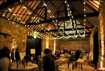 Inspiration // Barn Wedding Lighting / Beautiful lighting inspiration for rustic, glamorous and vintage barn weddings. Shows a selection of our own work and images that inspire us.