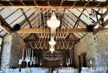 Our Work // Notley Abbey / Barn and Outdoor Lighting by Oakwood Events. All the pins here show our own lighting. Some images were captured by talented professional photographers - click through to see their blog posts.