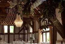 Our Work // Loseley Park / Lighting designs by Oakwood Events in the stunning Tithe Barn at Loseley Park. All the pins here show our own lighting. Some images were captured by talented professional photographers - click through to see their blog posts.