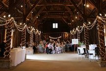 Our Work // Great Barn Ruislip / Lighting by Oakwood Events. All the pins here show our own lighting. Some images were captured by talented professional photographers - click through to see their blog posts.