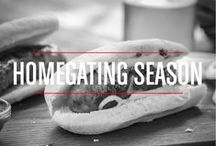 Homegating Season / Not all tailgates have to take place in a parking lot! Get ready for delicious dishes and lots of inspiration the next time you're hosting on game day. Happy Homegating Season!