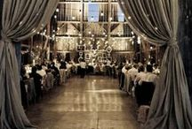 Inspiration // Elegant Barn Weddings / Inspiring lighting and decor ideas for elegant barn weddings