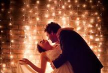 Inspiration // Wedding Lighting Backdrops / Collection of inspiring ideas and styles for unique wedding lighting backdrops.