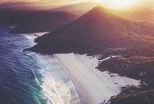 {My life as a mermaid...Shhhhh....} / beach. ocean life. palm trees. seashells. soft waves. starfish. pineapples. seahorses. salty air. free as a bird. wavy hair. adventures. turtles. bikinis. cali. sandy toes. surf. / by Kira Arrington