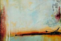 Abstract art, colours and rust - Vol. 2