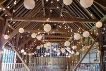 Our Canopies // Random Loops / Random loop festoon lighting, unique and beautiful. Can be lightly done for a rustic look or densely for serious wow factor. All the pins here show our own lighting. Some images were captured by talented professional photographers - click through to see their blog posts.