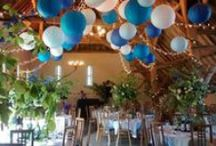 Wedding Inspiration // Bright Weddings / Lighting and decor elements for weddings with bright colour schemes