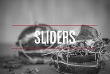 Sliders / Because you can never go wrong with finger food. These #sliders are perfect for the next time you're hosting!