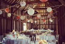 Our Work // Micklefield Hall / Wedding lighting at the beautiful barn at Micklefield Hall. All the pins here show our own lighting. Some images were captured by talented professional photographers - click through to see their blog posts.