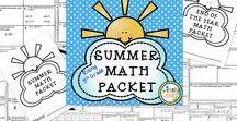 Summer Activities for Elementary Students / Activities for summer reinforcement!