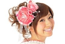 髪飾り Hair accessories