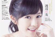 渡辺麻友 Watanabe Mayu / AKB48 Watanabe Mayu (渡辺麻友) / Mayuyu (まゆゆ)