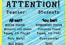 Educational/Classroom ideas