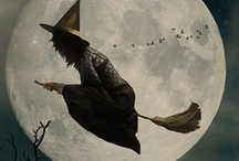 All Hallows Eve / when witches go riding and black cats are seen the moon laughs and whispers- tis near HALLOWEEN / by Monica Crosson
