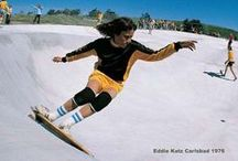 Eddie Katz - Surfing and Side Walk Surfing since 1966 - 51 years of consecutive riding 1966-2017.