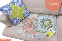 You need these Templates! / A range of acrylic templates to help cut your patchwork shapes designed by Michelle Marvig.   These templates are versatile and can be used to create many blocks, limited by your own imagination!  http://www.craftproject.com.au/category/collections/craft-project-basics/templates/