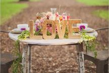 Wedding ideas and things