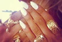 Nail Trends / almond nails, short nails, long nails, stiletto nails ...