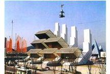 Italy Pavilion at World's Fairs / Raccolta di immagini del Padiglione Italia durante le Esposizioni Universali.
