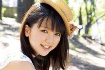 真野恵里菜 / Erina Mano.  Born: April 11, 1991. Birthplace: Zama, Kanagawa Prefecture, Japan. Height: 159cm. Blood Type: B. Japanese pop singer and actress formerly associated with Hello!Project.
